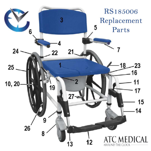 NRS185006-Replacement-parts-toilet-transfer-chair