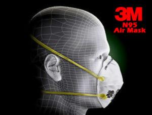 3M N95 air mask medical supplies