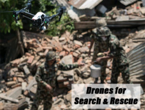 search rescue drones medical texas flooding hurricane